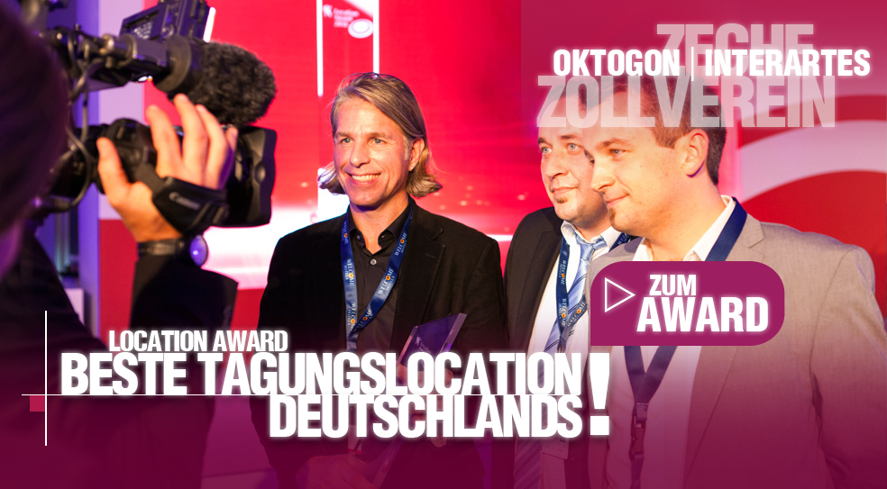 LOCATION AWARD 2014 | Beste Tagungslocation Deutschlands